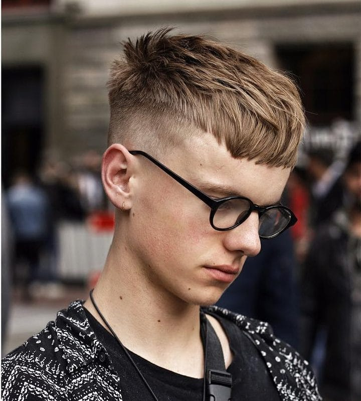 Short Textured Men's Haircut