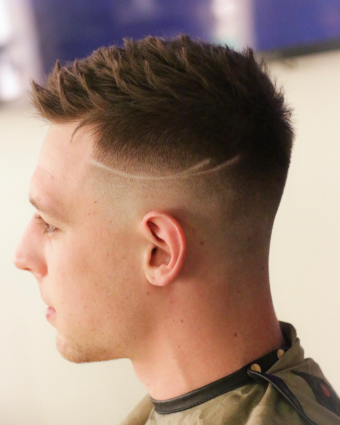 Men's Short Fade Haircut