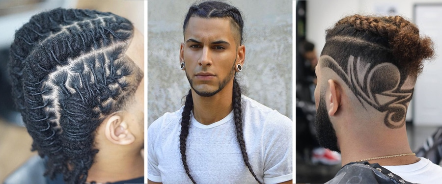how to braid hair for men