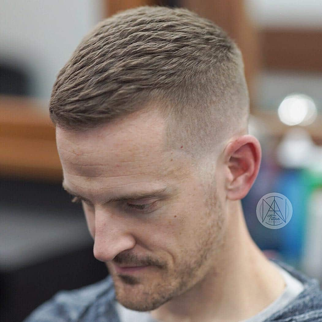 style short hair male 2018 s most popular and trendy haircuts for pces 5507 | titan barber mens short textured haircut texture powder wide tooth comb