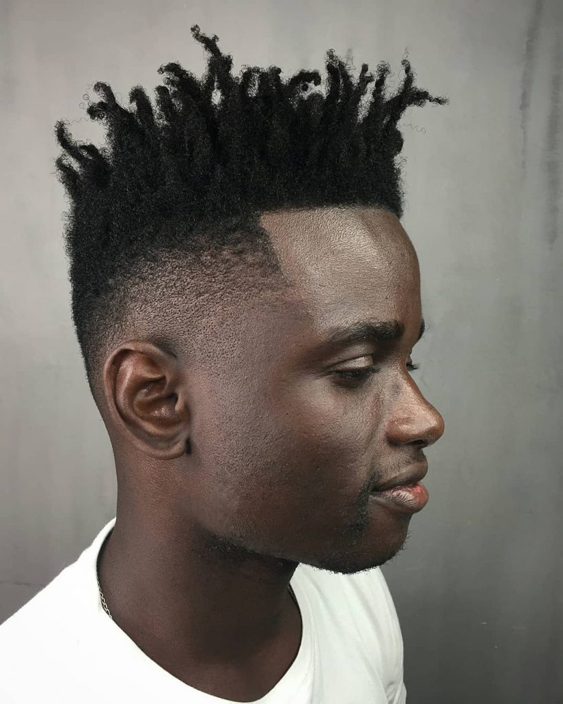 high top fade with twists