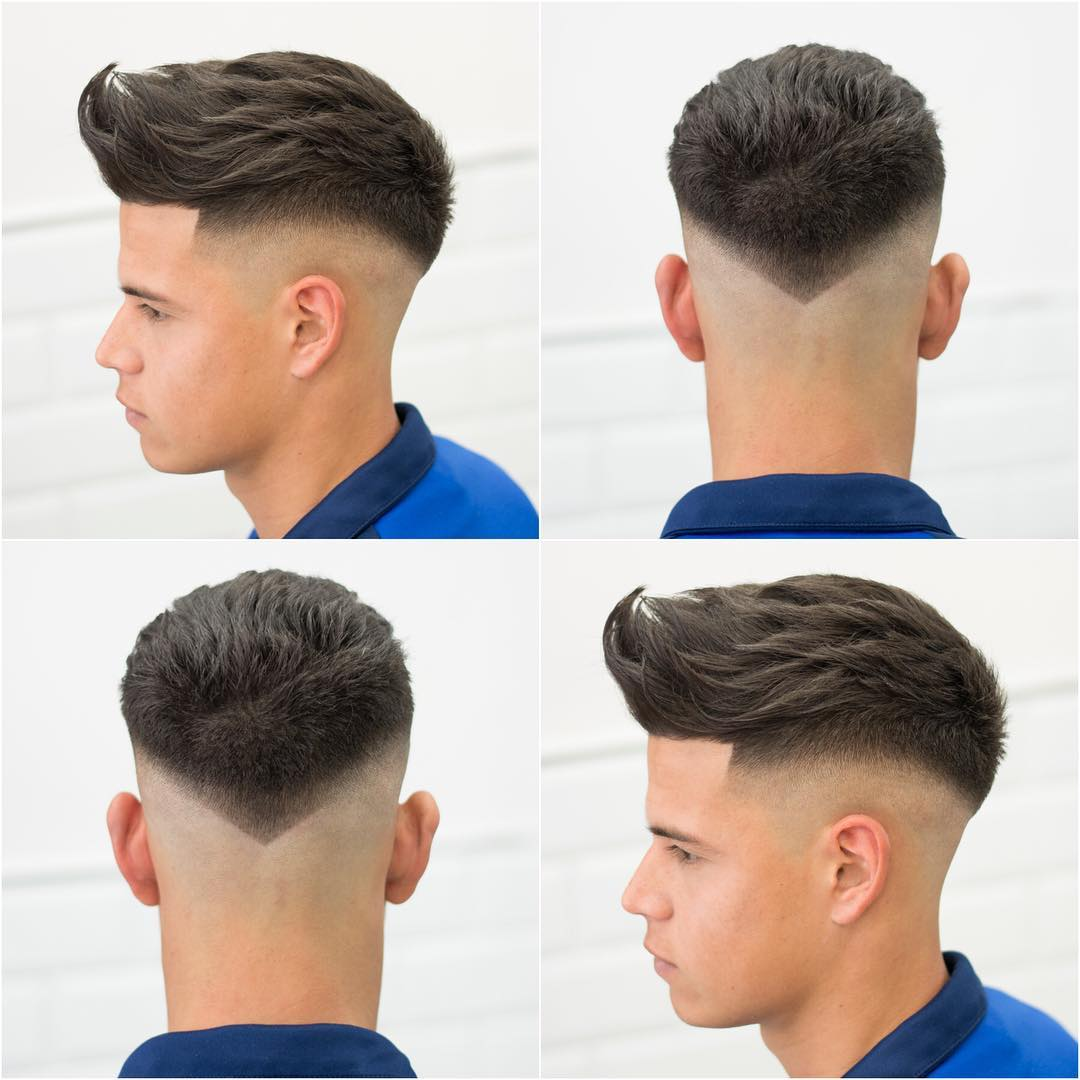 Fade Haircuts For Men Mens Hairstyle Trends