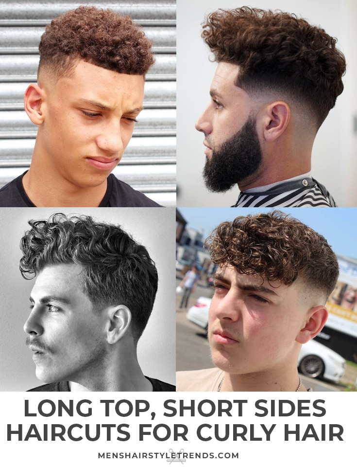 Short Sides Curly Hair On Top