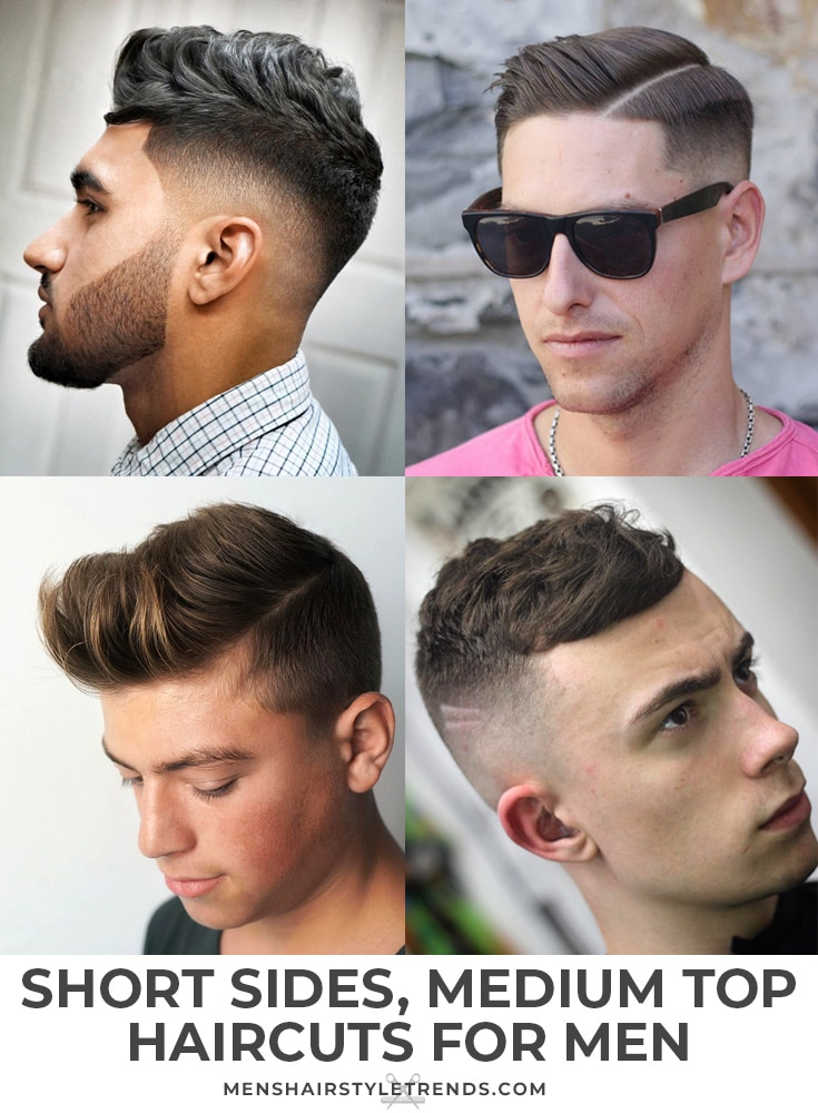Short Sides, Long Top Men\'s Haircut