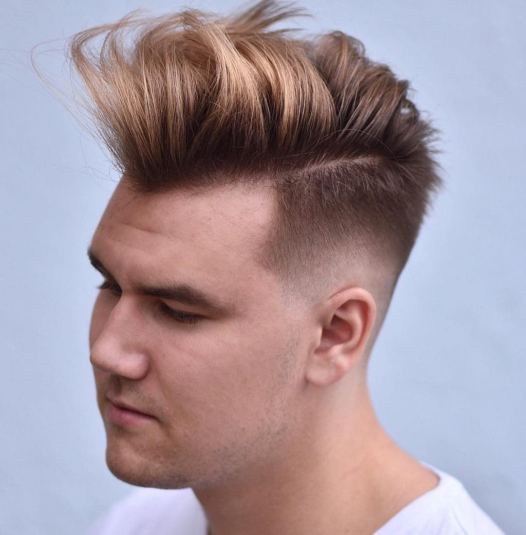 Short Sides Long Top Men S Haircut Men S Hairstyle Trends