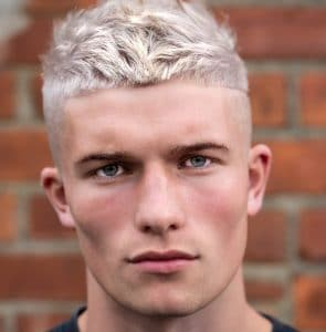 Men's Textured Haircuts: The Crop