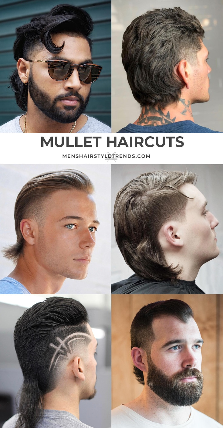 Guide to mullet haircuts for men