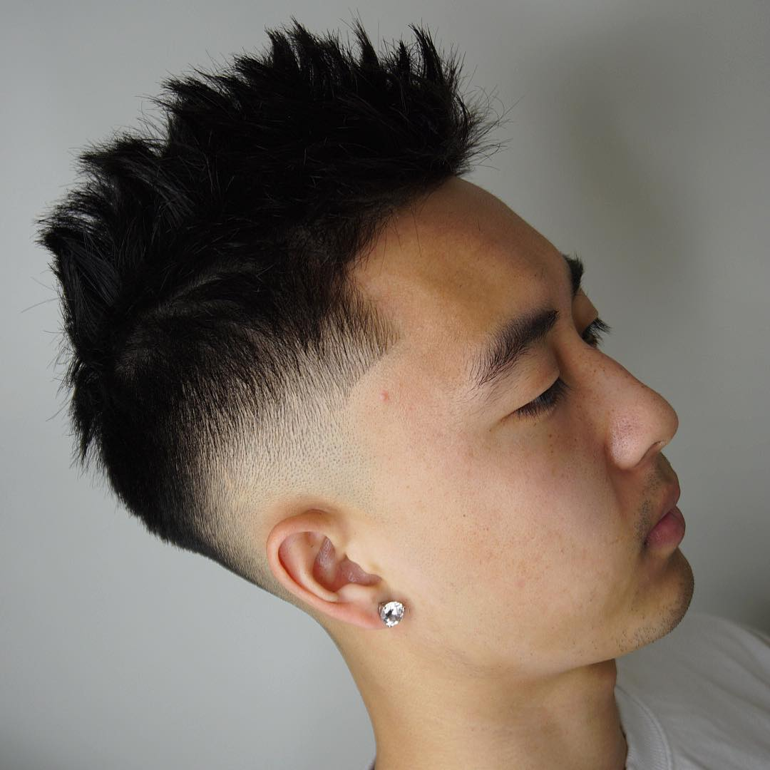 Asian Hairstyles Men Fade