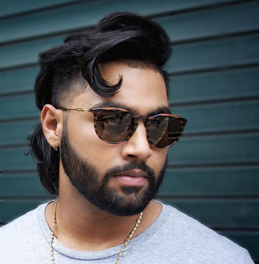 Tremendous 25 Crazy Mullets For Men 2020 Styles Natural Hairstyles Runnerswayorg