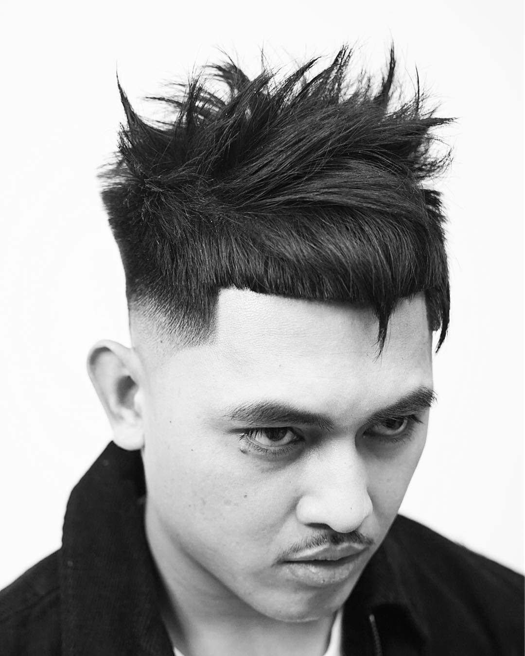 Crop hairstyles for Asian men