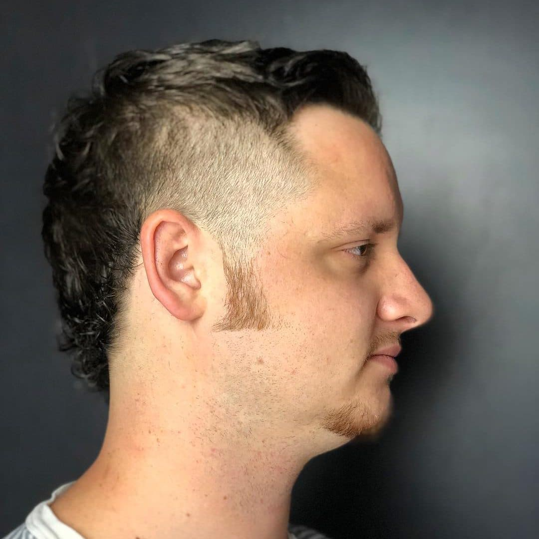 Kentucky Waterfall haircut