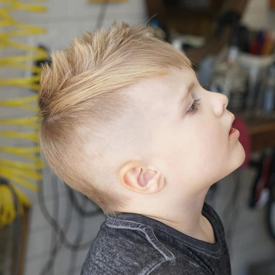 Cool mullet haircut for boys