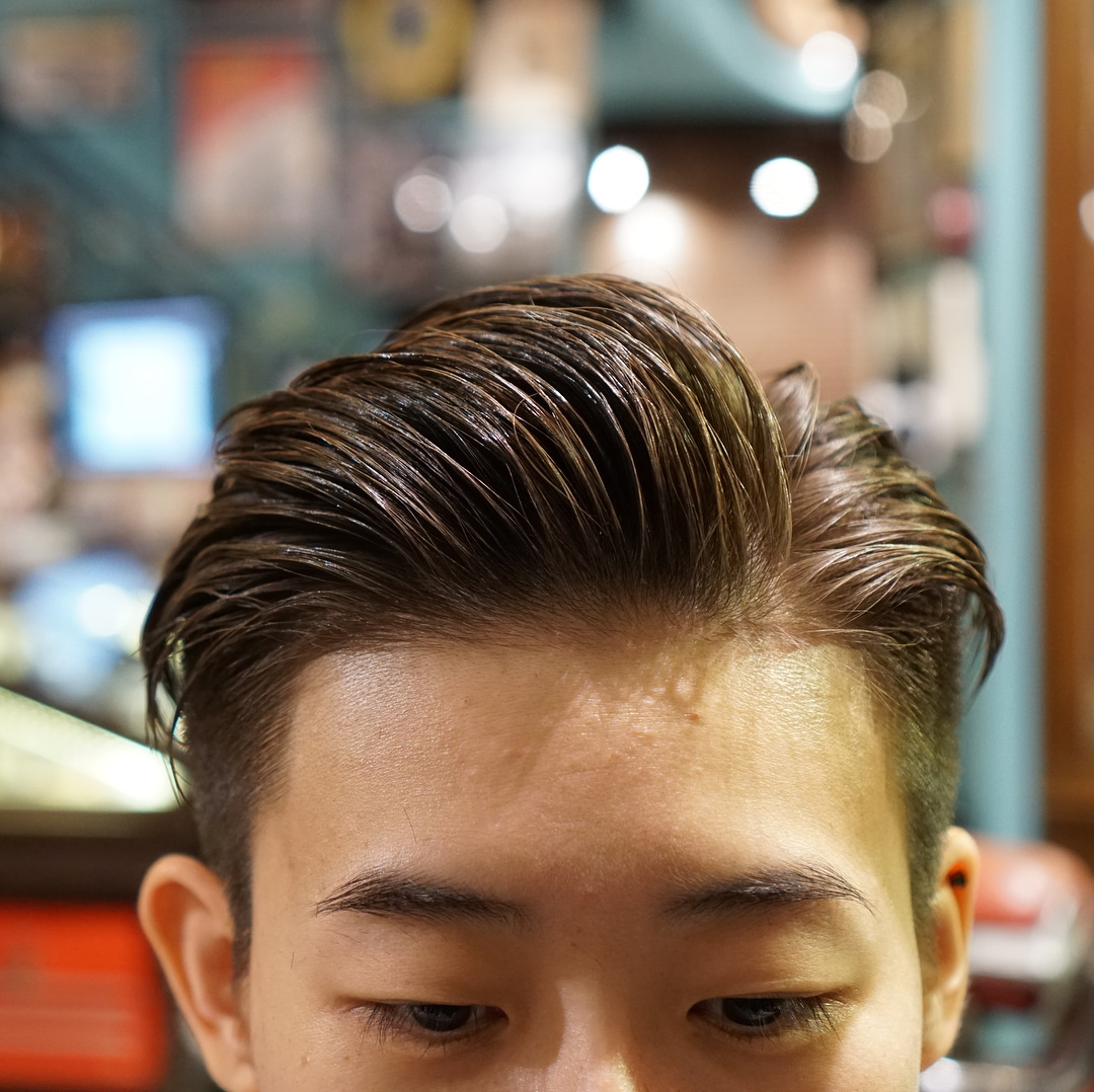 27. Textured Side Part Hairstyle