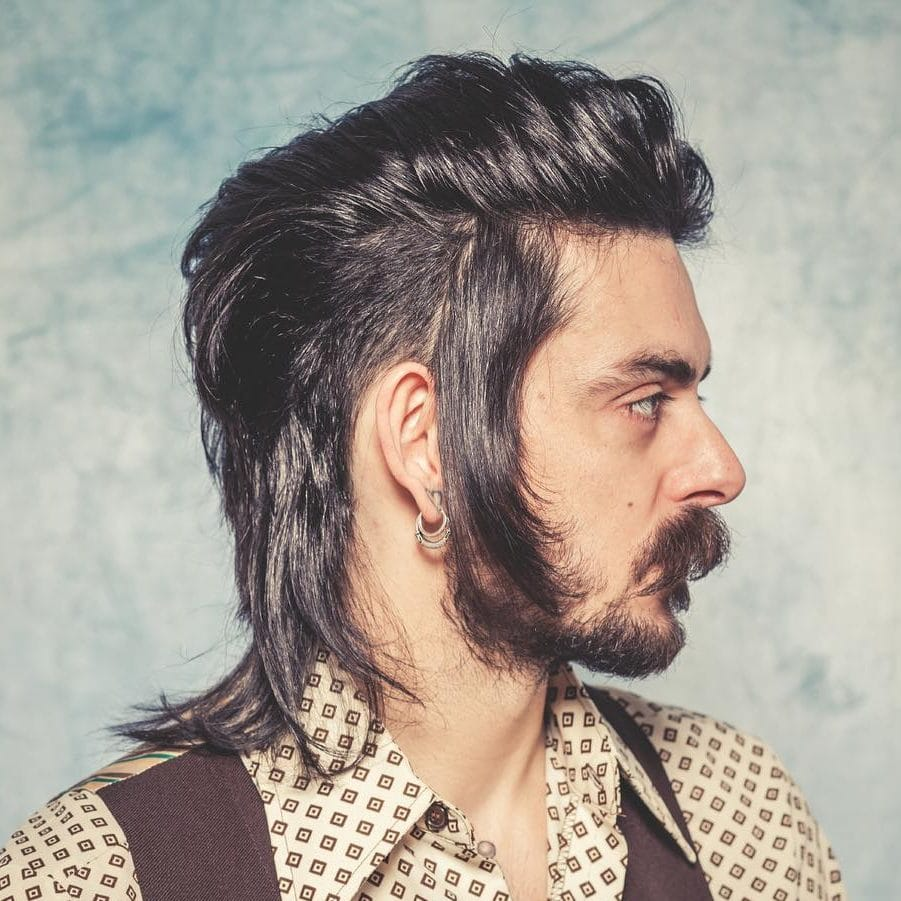 Peachy 25 Crazy Mullets For Men 2020 Styles Natural Hairstyles Runnerswayorg