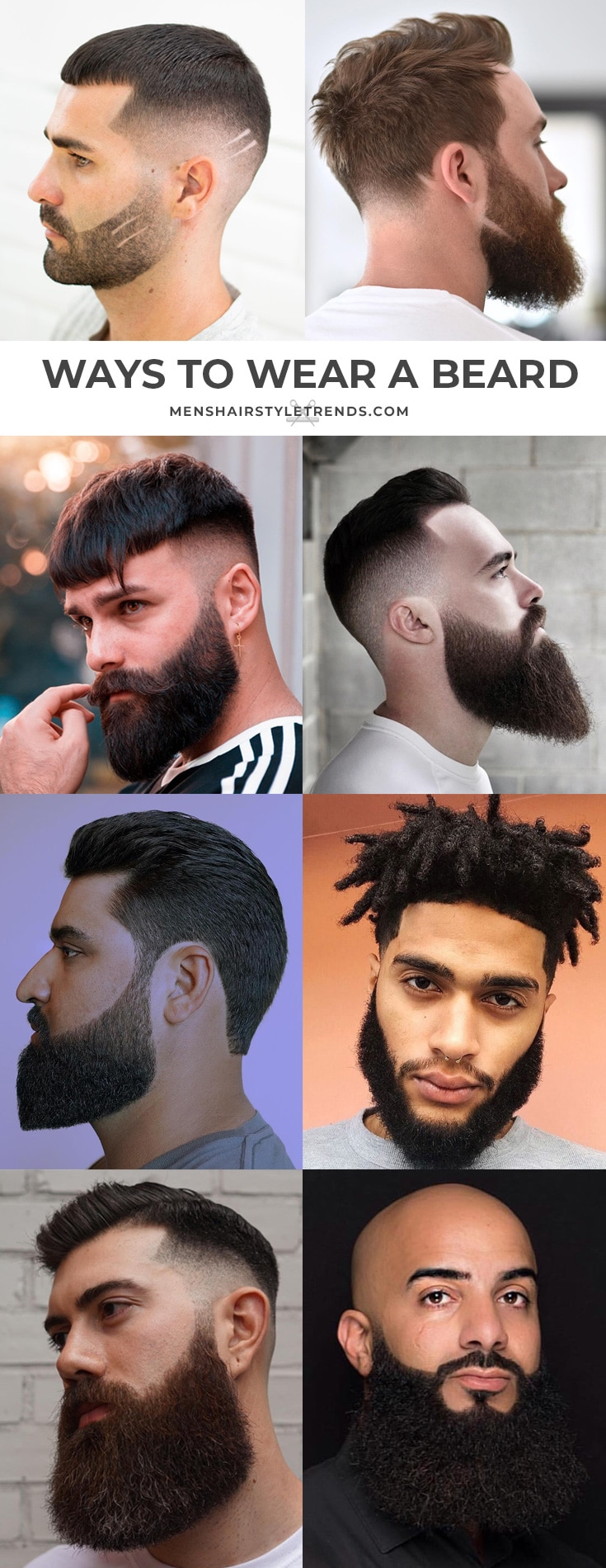 Ways To Wear A Beard