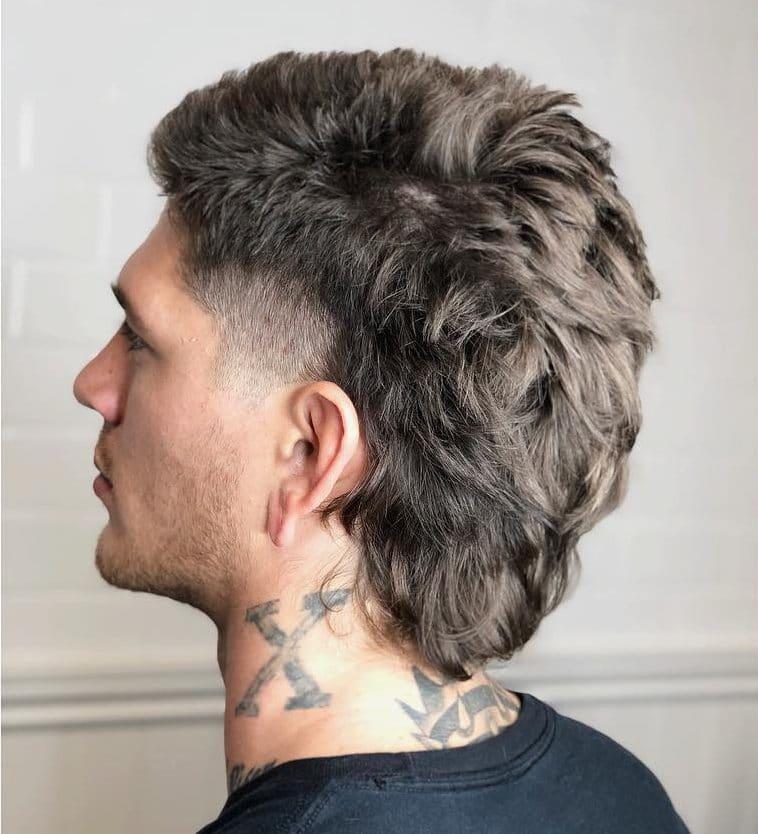 Mullet Mens Haircut