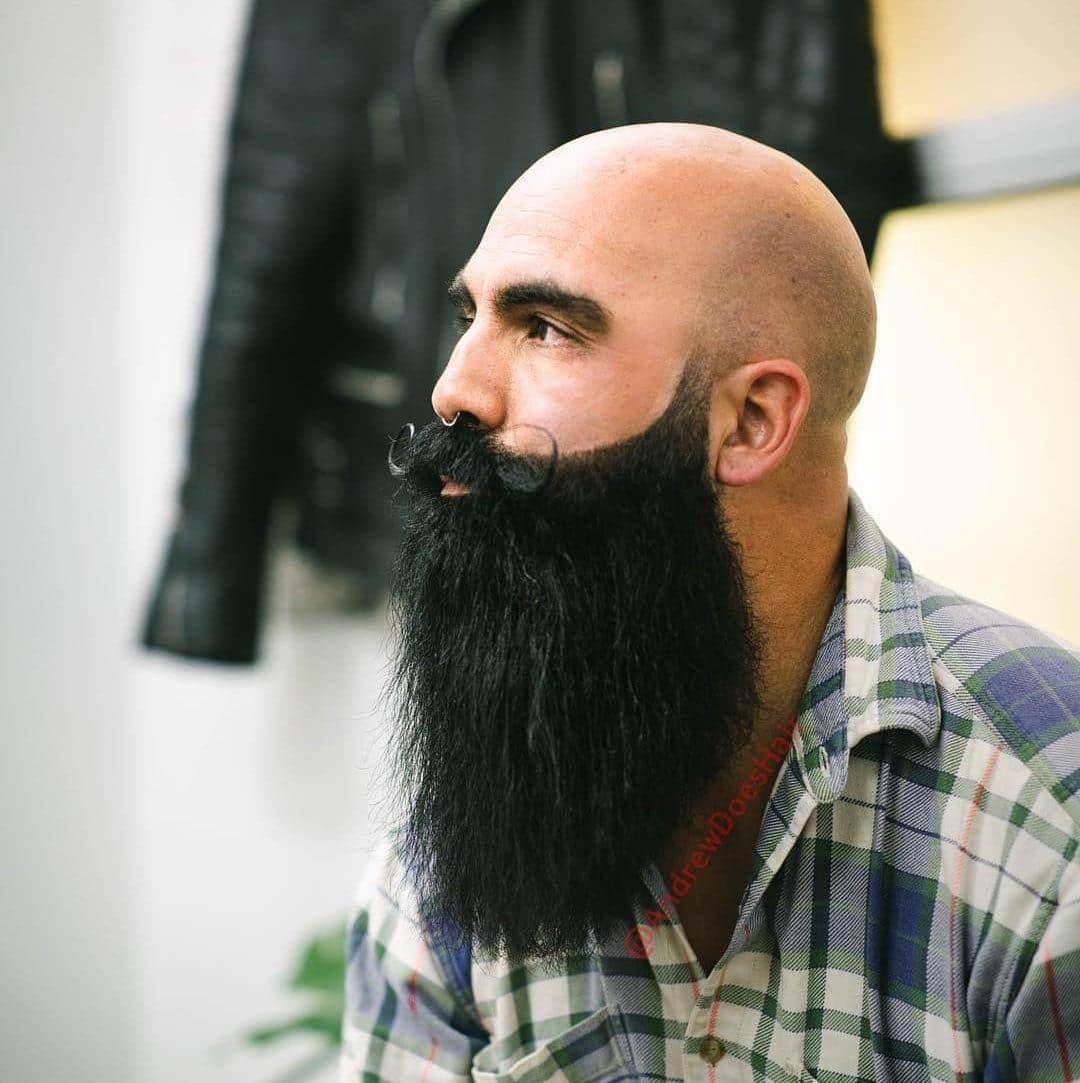 Full Beard + Mustache