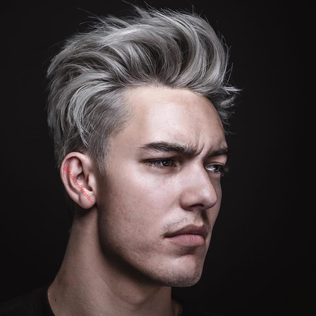 Modern Pompadour Hairstyle For Men