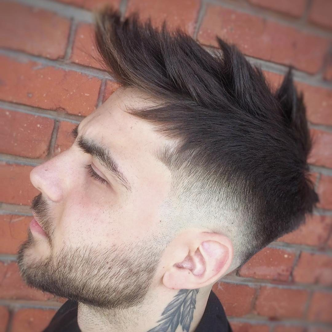 Spiky Mens Hairstyle