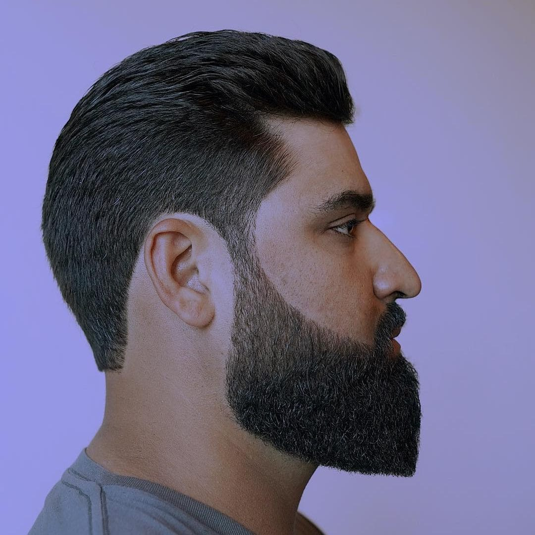 Pointed Beard Style