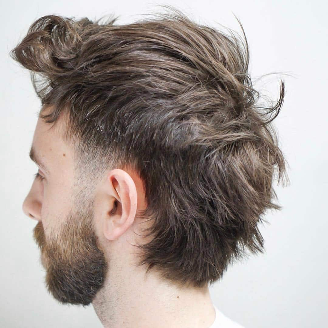 Messy Mullet Hairstyle