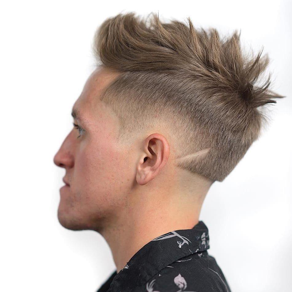 Spiky Quiff Mens Haircut