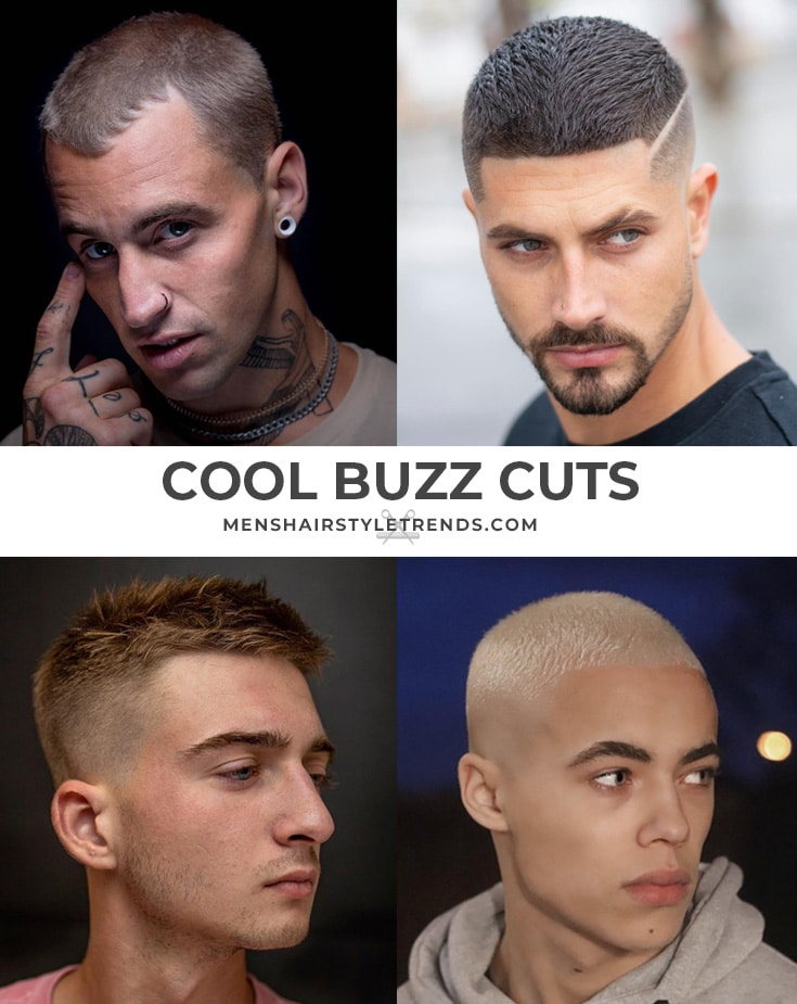 Men's Hair Ideas - Buzz Cuts