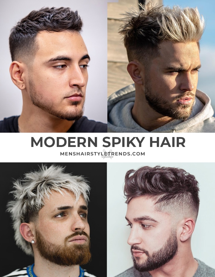 Modern Spiky Haircuts