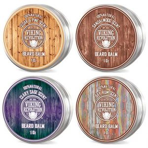 Viking Revolution Beard Balm Variety Pack