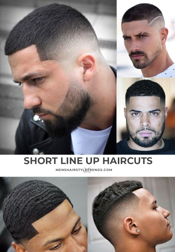 Line Up Haircut Mens Hairstyle Trends