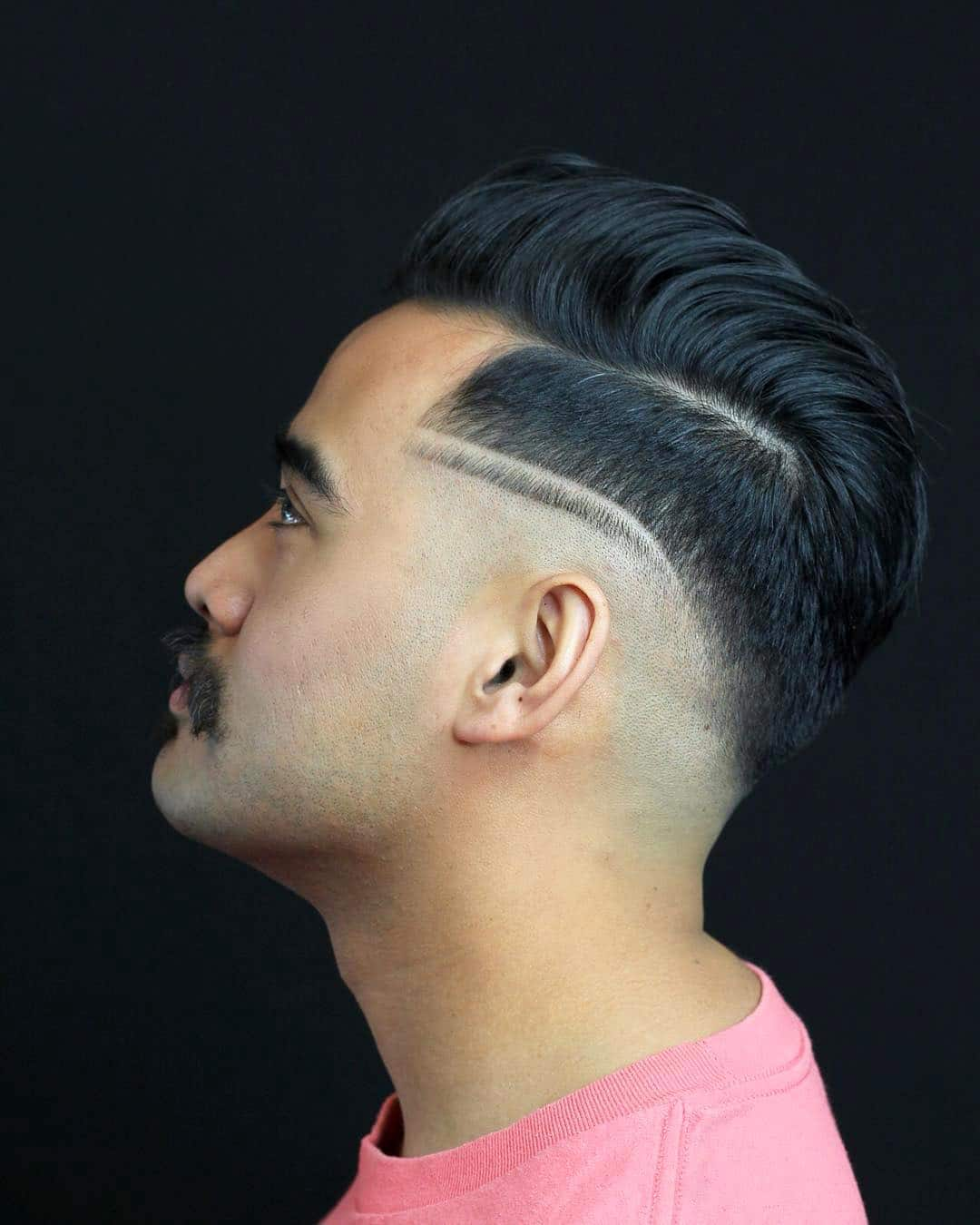 Haircut Designs Lines Men S Hairstyle Trends