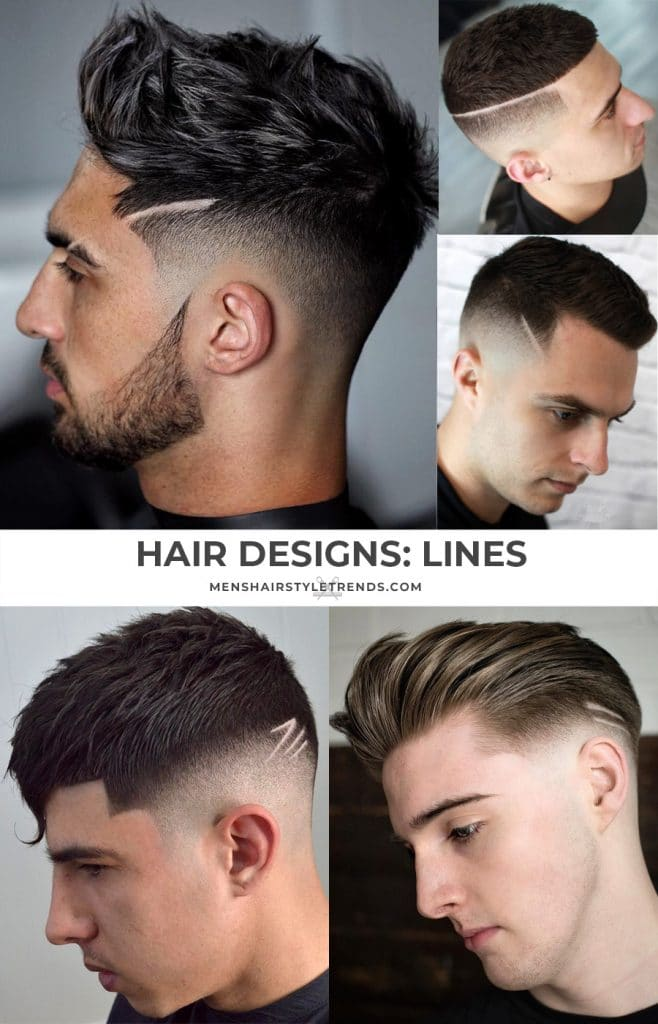 7 Cool Haircut Designs With Lines For Guys 2020 Styles