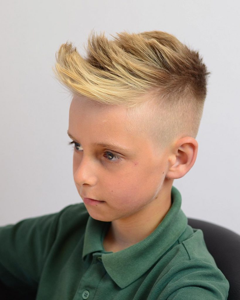 Modern Spiky Haircut For Boys