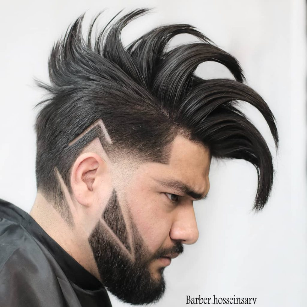 7+ Cool Haircut Designs With Lines For Guys (2020 Styles)