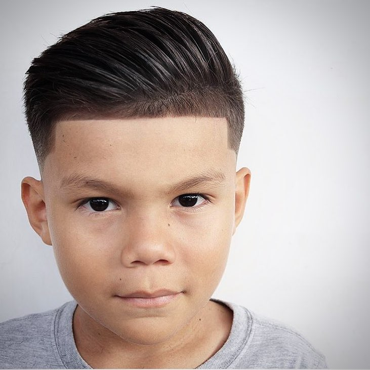 Pompadour Haircut For Boys