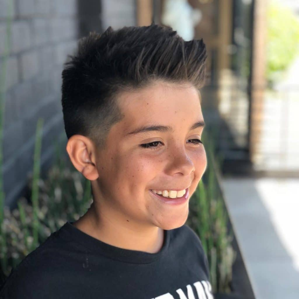 Haircut For Boys With Thick Hair