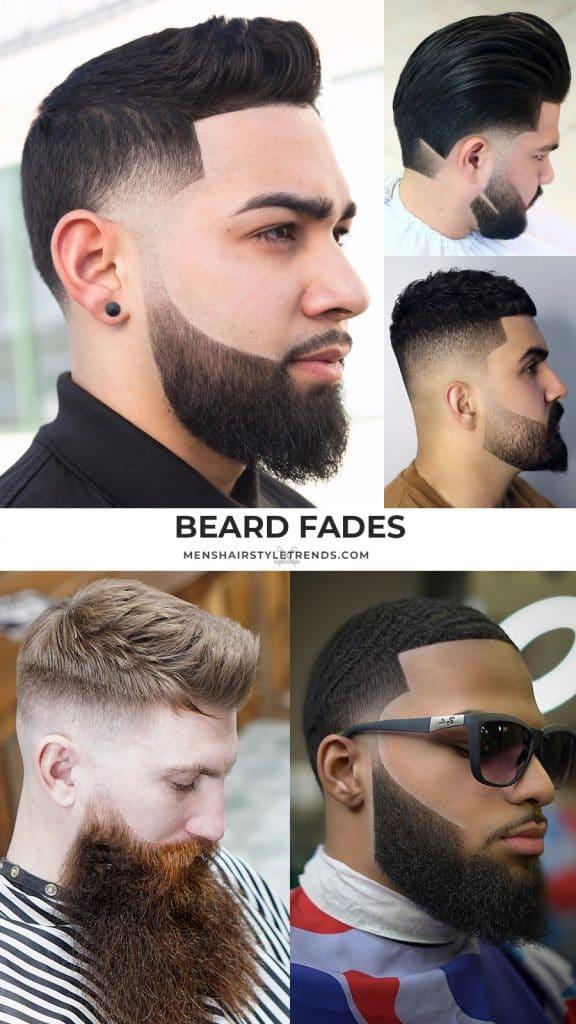 Beard fade styles