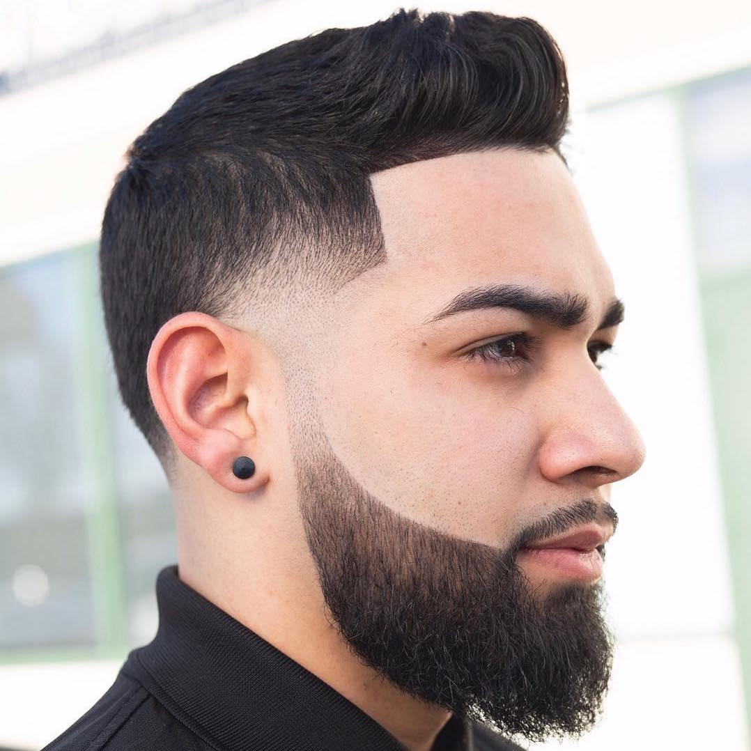 Swell 5 Cool Beard Fade Styles For 2020 Natural Hairstyles Runnerswayorg
