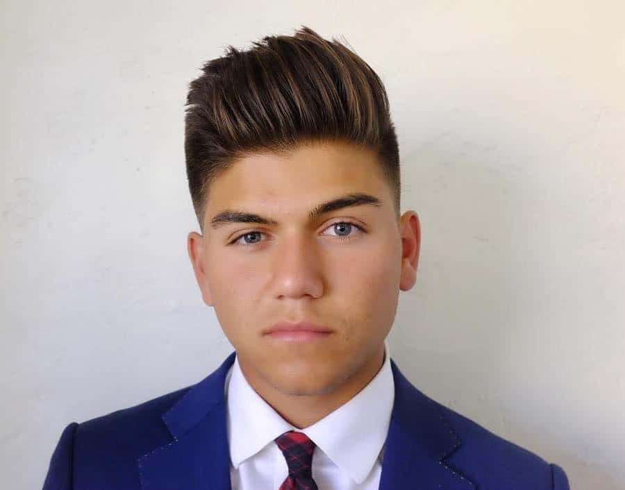 Cool Haircuts For Teenage Guys