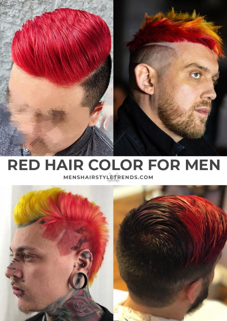 Hair Color Options For Men