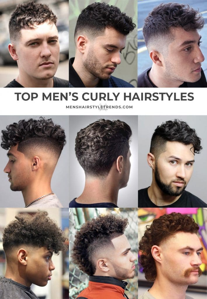 top men's curly hairstyles