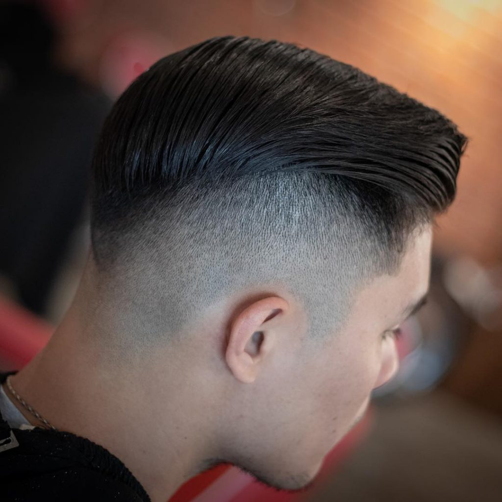 asian men undercut