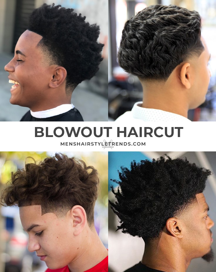 blowout haircut for guys