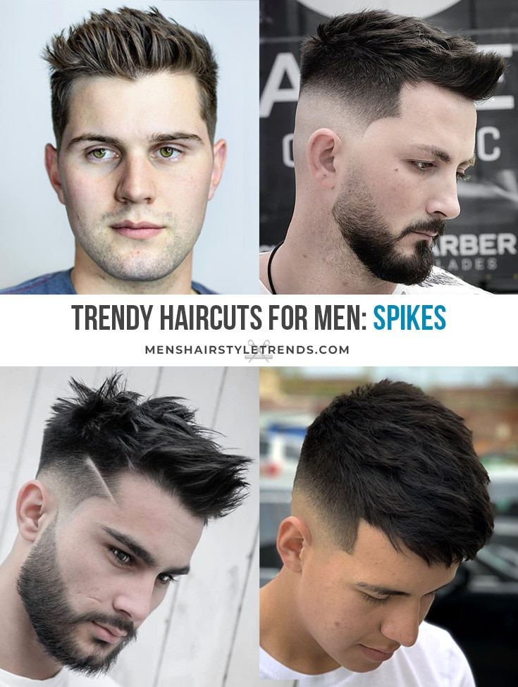 Spikes and Spiky Haircuts For Men