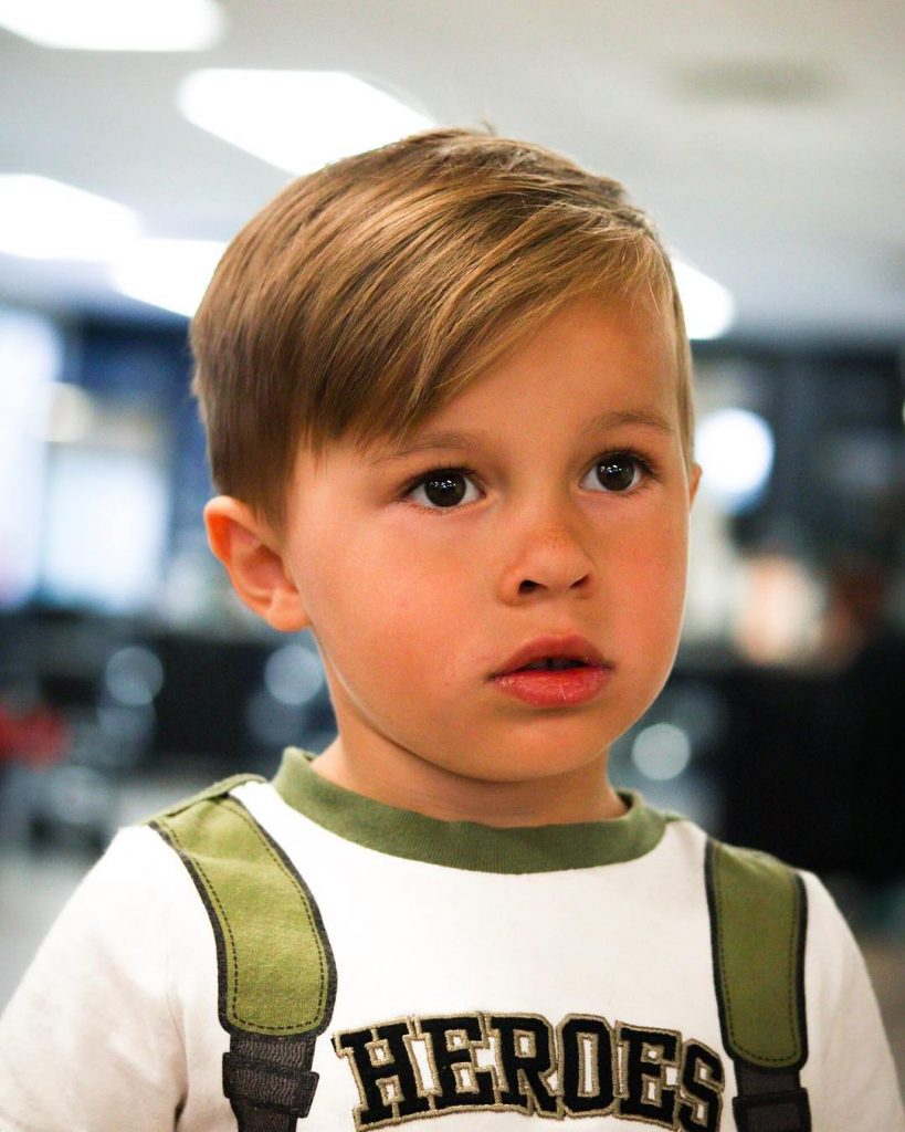 stylish toddler boy haircuts
