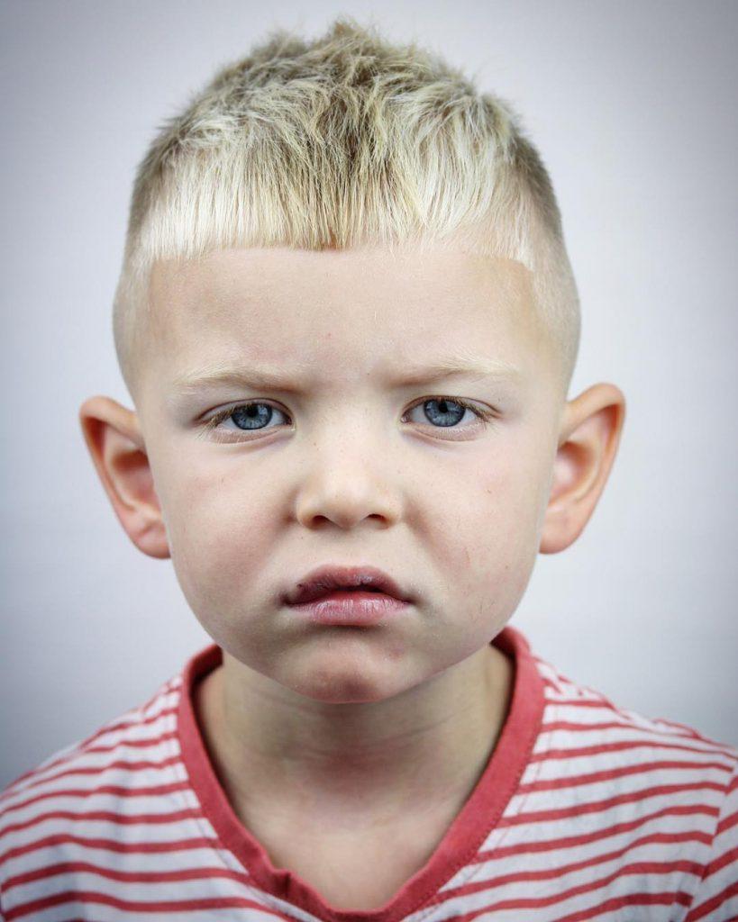 Toddler boys crop fade haircut