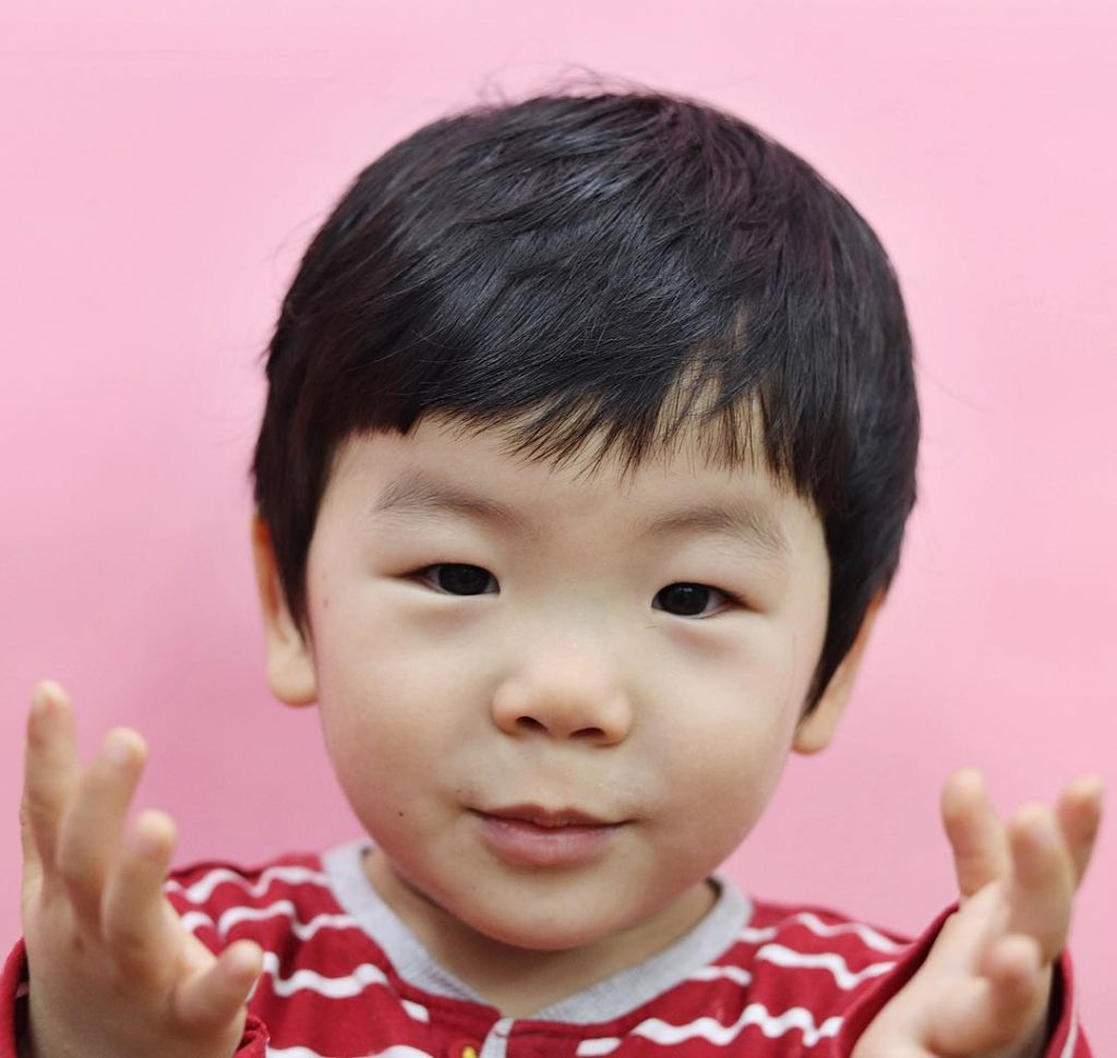 cute toddler boy haircuts with bangs
