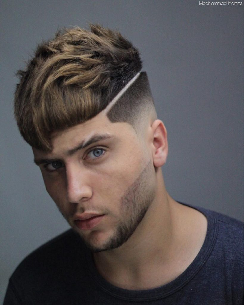 new haircuts for men fringe bangs