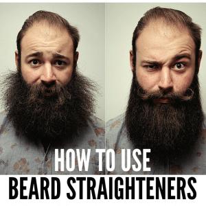Beard Straighteners