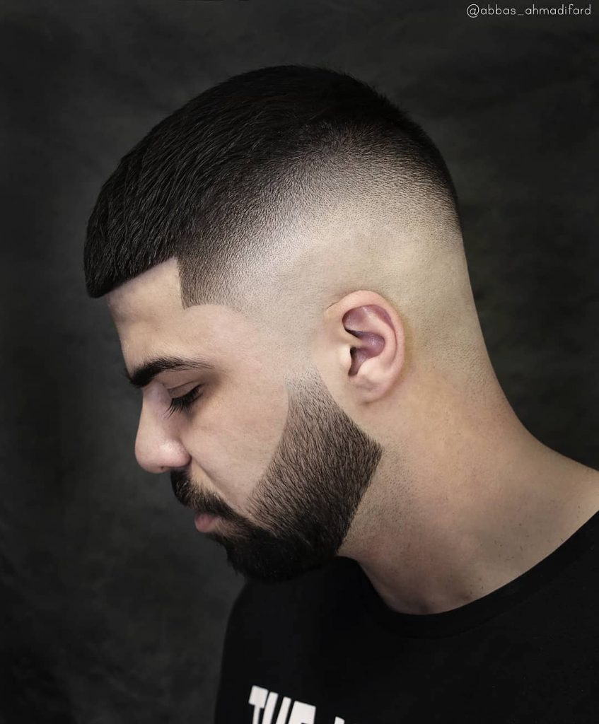 fade haircuts for men with beards